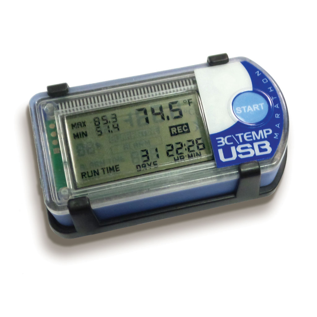 3C\TEMP-USB Single-Use Temperature Data Logger