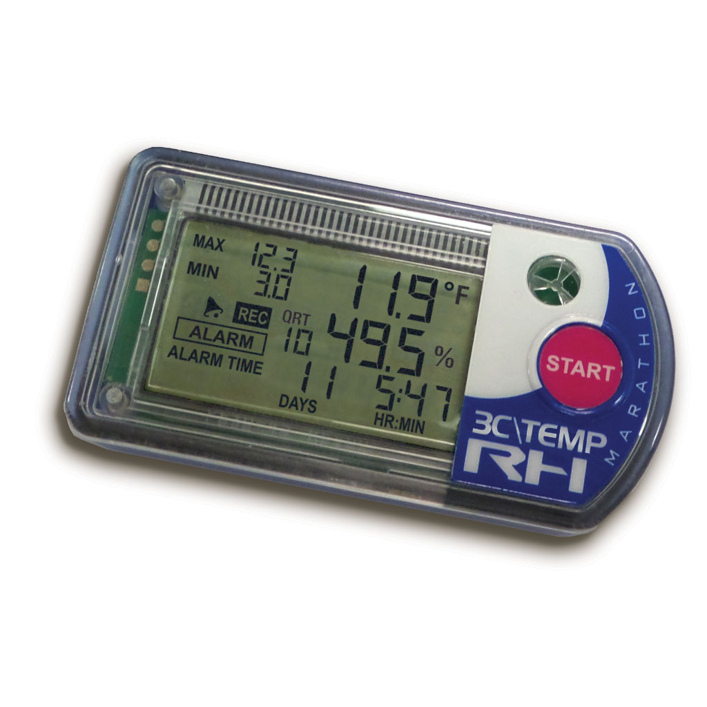 3C\TEMP-RH Temperature & Humidity Logger