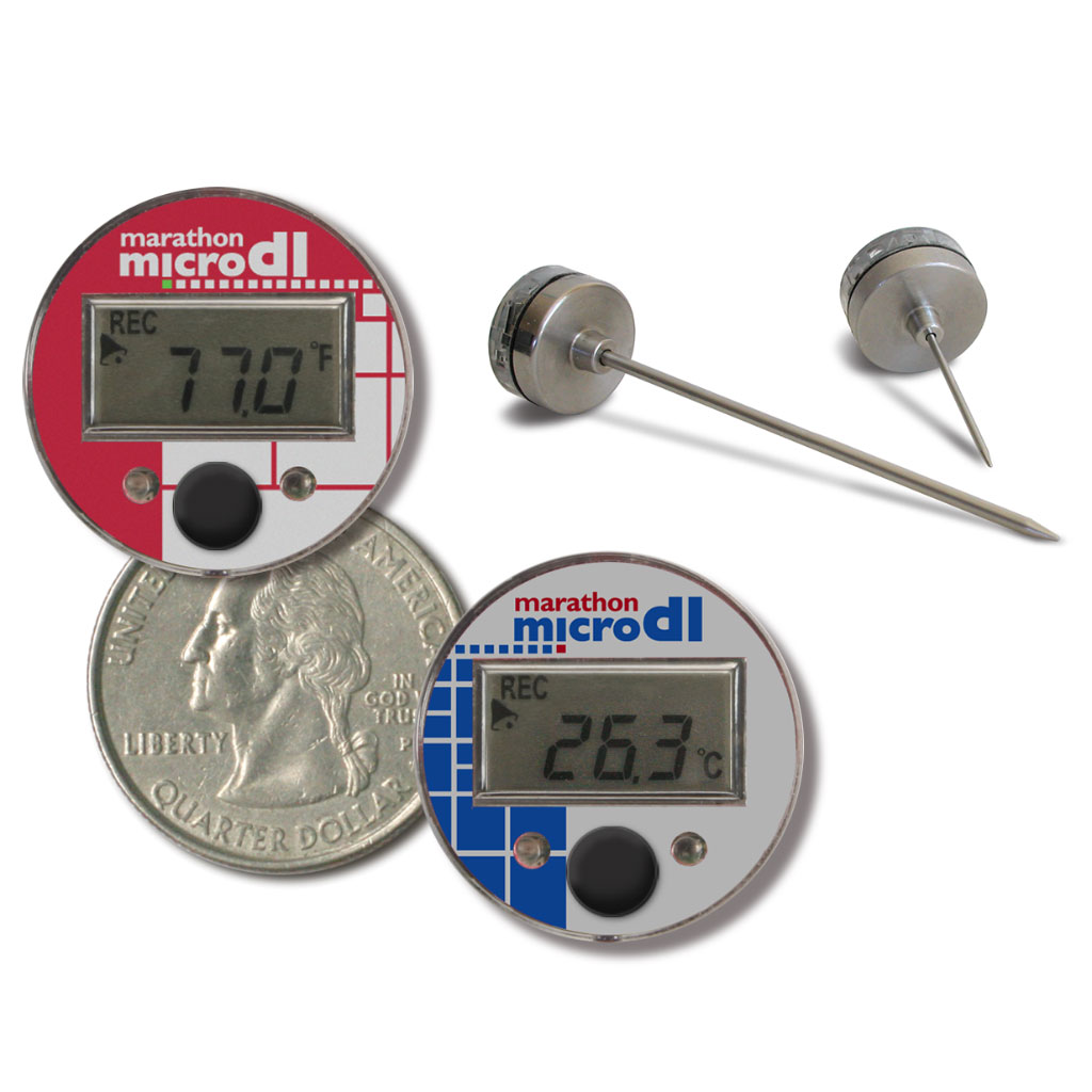 MicroDL Digital Display Temperature Logger