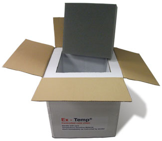 Ex-Temp Validated Shipping Boxes