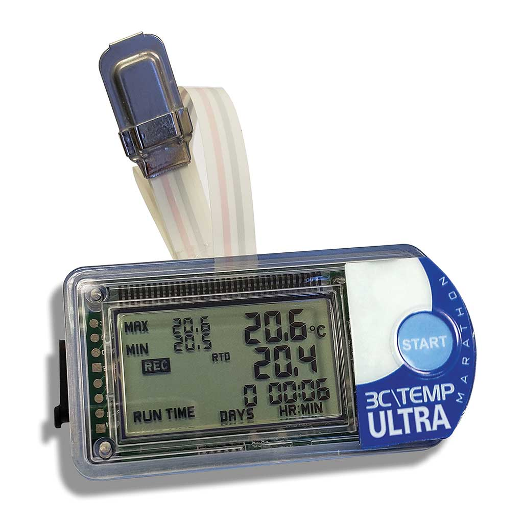 3CTEMP-ULTRA -200C Laboratory Grade Temperature Data Logger